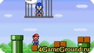 Saving Sonic with Mario
