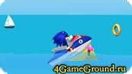 Race about Sonic