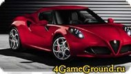 Puzzle with Alfa Romeo Game