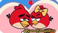 Влюбленные, но злые птички