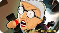 Shooter about crazy grandmother Game