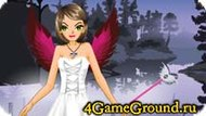 Игра про анимешного ангела