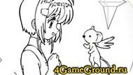 Раскрась анимешную картинку
