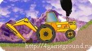Backhoe tractor - а у тебя уже есть собственный гоночный трактор?