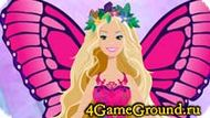 Catch butterflies with Barbie Game