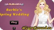 Barbie wedding dress Game