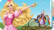 Game account with Barbie