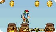 Игра, где нужно собирать монетки