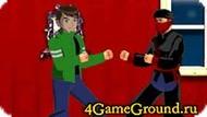 Ben 10 vs Ninjas Game