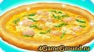 Рецепт приготовления большой пиццы!