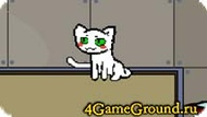 Walker about white kitty Game