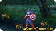 Бьем пауков с Капитаном