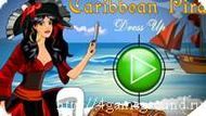 Caribbean pirate dress up