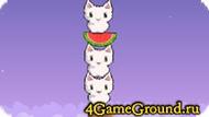 Строим кошачью башню