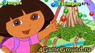 Looking letters with Dora Game