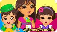 Caring for twins Dora Game
