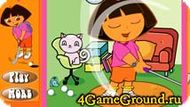 Play golf with Dora Game