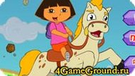 Dora and her horse Game