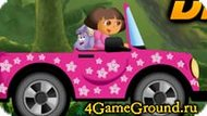 Persecuted by car with Dora Game