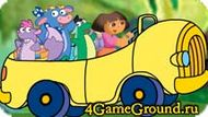 Save the animals with Dora Game