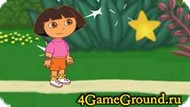 Saving card with Dora Game