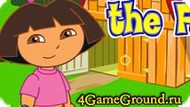 Dora on the farm Game