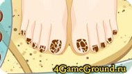How to do a pedicure Game