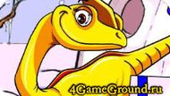 Пазл про динозавра