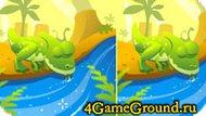 Игра про динозаврика найди отличия