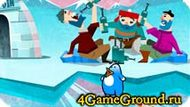 Рыбачим с пингвином
