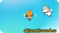 Flying game about a kitten