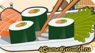 How to prepare sushi Game