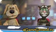 Talking cat Tom with us again Game