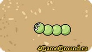 Game about a green worm