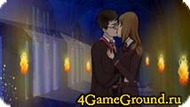Kiss with Harry Potter game