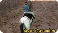 Race on a horse for girls