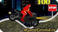 Motor Racing Iron Man Game