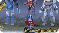 Transformer Lego game