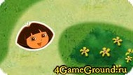 Complete the maze with Dora Game