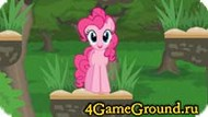 Jumping game about Pony