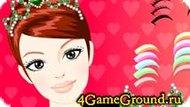 Do makeup for Barbie Game