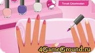 Manicure Barbie dolls Game