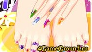 Do manicures and pedicures Game