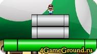 Опусти Марио на землю.