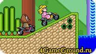 Гоняем на моциках в мире Марио