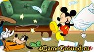 Fighting with Mickey and friends!