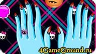 Manicure Monster High Game