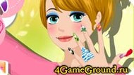 Making false nails Game