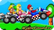 Race with Mario and komrades