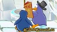 Игра про кафе Пингвинов